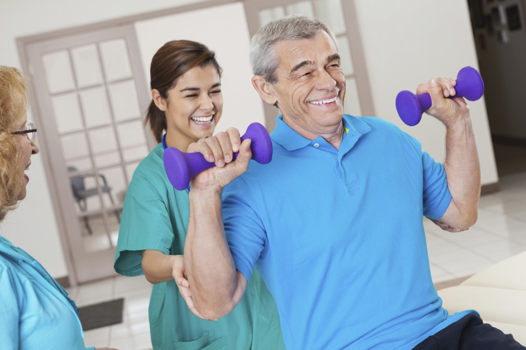 Rehabilitation and Therapy Services at Park Manor of Conroe nursing home.